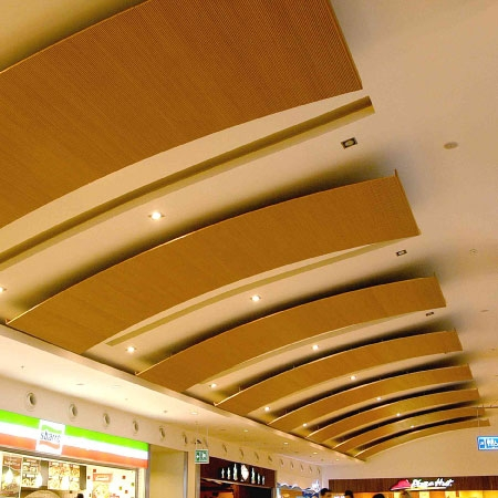ACOUSTIC WOOD CONSTANT CEILING SYSTEMS